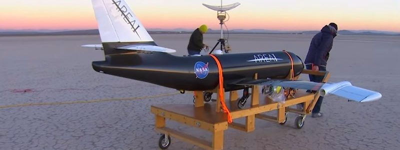 NASA Examines Technology To Fold Aircraft Wings In Flight.